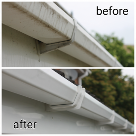 Gutter Clean Before After