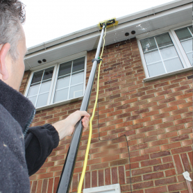 Skyvac Long Reach Cleaning Gutters