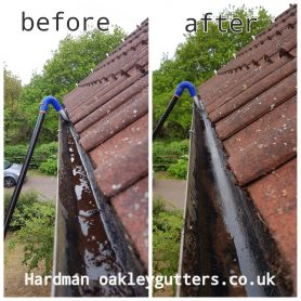 gutter cleaning in Ipswich, Suffolk