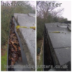 gutter cleaning, Stonham, Suffolk